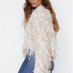 Nasty Gal Sweaters - Gala Affair Shaggy Sweater